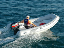 inflatable boat : rigid inflatable tender (outboard) SAIL PLUS 400 Duarry