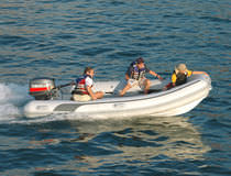 inflatable boat : rigid inflatable tender (outboard) SAIL PLUS 430 Duarry