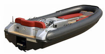 inflatable boat : equipped rigid inflatable tender (in-board, center console, teak deck) JET TENDER 15 Castoldi