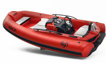 inflatable boat : equipped rigid inflatable tender (jet propulsion, center console) ABARTH 695 TRIBUTO FERRARI Sacs