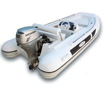 inflatable boat : equipped rigid inflatable tender (outboard, center console) CABRIO 360 CH20 Aermarine
