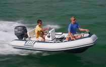 inflatable boat : equipped rigid inflatable tender (outboard, side console) DL 360 Novurania