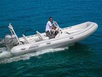 inflatable boat : equipped rigid inflatable tender (outboard, side console) RAIDER 580 Duarry