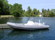 inflatable boat : equipped rigid inflatable yacht tender (outboard, center console) 22  Northwind