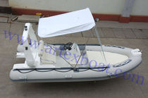 inflatable boat : equipped rigid inflatable yacht tender (outboard, center console) 4.8 Qingdao Artex Corporation Ltd