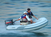 inflatable boat : rigid inflatable tender (outboard) SAIL 260 Duarry