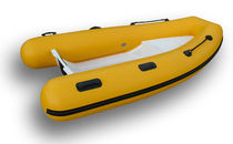 inflatable boat : rigid inflatable tender (outboard) FOCCHI 250 FLAT Focchi