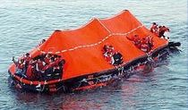 inflatable coastal liferaft for ships (reversible)  DBC Marine Safety Systems