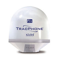 Inmarsat-F Fleet77 terminal for ships TRACPHONE F77 KVH
