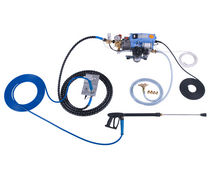 integrated high pressure cleaning system (for boat and yacht) HYDROPOWER B120K - Fresh or Clean & Fresh Water Suitec