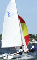 ISAF class sailing dinghy : 420  Qingdao Zou Inter Marine Co.,Ltd.
