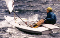 ISAF class sailing dinghy : BYTE   Performance sailcraft 2000