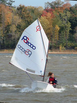 ISAF class sailing dinghy : OPTIMIST XTREME Performance sailcraft 2000