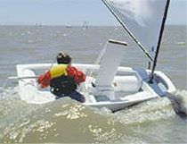 ISAF class sailing dinghy : OPTIMIST LANGE RioTecna