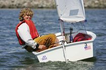 ISAF class sailing dinghy : OPTIMIST CLUB RACER McLaughlin Boat Works