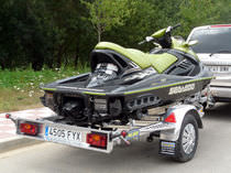 jet-ski trailer (with rollers) NL3516 | 750 KG REMOLQUES THALMAN