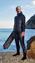 ladies'one-piece diving wetsuit APNEA SPETTON