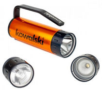 LED diving flashlight 620  Kowalski Unterwasserlampen