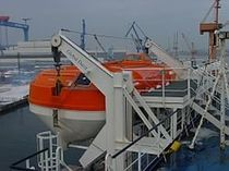 lifeboat gravity davit for ships GSP. GLOBAL DAVIT