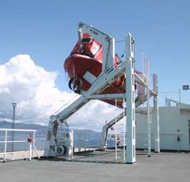 lifeboat gravity davit for ships  Industrias Ferri, S.A.