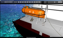 lifeboat launching simulation software LAUNCHED LIFEBOAT STORM Ltd.