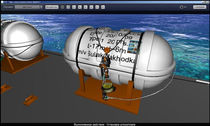 lifeboat launching simulation software DROPPED LIFERAFT  STORM Ltd.