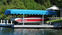 lift mounted boat canopy  Hewitt Boats Lifts and Docks