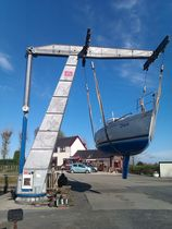 lifting crane for boats (hydraulic) YCR20FH Vermeer Marine