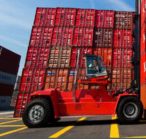 loaded container handler (with top-lift spreader) DCF 360 - 410 Kalmar Industries