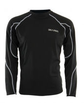 long sleeve thermal lycra top  bearing sportswear