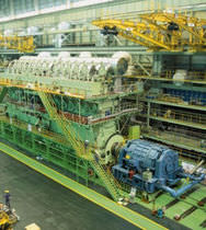 low speed diesel propulsion engine for ships RT-FLEX96C / RTA96C (24000 -> 80080 kw @ 92 -> 102 RPM) Wärtsilä Corporation