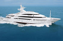luxury yacht : displacement mega-yacht (steel, tri-deck, custom-made) AMEVI Oceanco