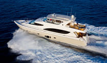 luxury yacht : flybridge motor-yacht (composite, semi-custom) Hatteras 80 MY Hatteras Yachts