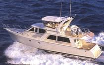 luxury yacht : flybridge trawler motor-yacht 52/54 PILOTHOUSE Offshore Yachts
