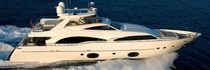 luxury yacht : planing hull flybridge motor-yacht (composite, semi-custom) 97' Custom line