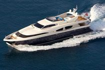 luxury yacht : planing hull super-yacht TECHNEMA 120 Rizzardi Posillipo Italcraft