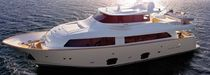 luxury yacht : semi-displacement super-yacht (semi-custom) NAVETTA 26 CRESCENDO Custom line