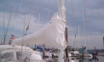 mainsail cover CS36 Yager Sails