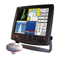 marine GPS : chart-plotter (with external antenna) MARLIN / MARLIN W/O  Seiwa