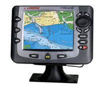 marine GPS : chart-plotter (with integrated antenna) COMPACT X7 Lorenz
