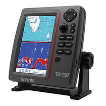 marine GPS system : fishfinder, chart-plotter SVS-750 CF Si-tex