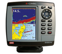 marine GPS system : fishfinder, chart-plotter G142CFD GME electrophones