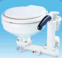 marine toilet with hand pump TMC-99905 TMC Technology Corp