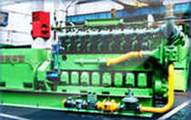medium-speed auxiliary diesel engine for ships (4 stroke, in-line type, turbocharged) 660 KW @ 1000 RPM H. Cegielski-Poznan
