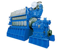 medium-speed diesel propulsion engine for ships (4 stroke, in-line type) 6DKM-28 (1912 kWm @ 750 rpm) Daihatsu Diesel Pro