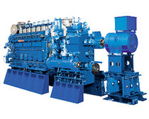 medium-speed diesel propulsion engine for ships (4 stroke, in-line type) 6DKM-20 (956 kWm @ 900 rpm) Daihatsu Diesel Pro