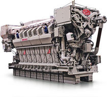 medium-speed diesel propulsion engine for ships (4 stroke, V type, sequential turbocharger) COLT-PIELSTICK PA6B STC : 4860 -&gt; 8100 KW Fairbanks Morse