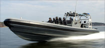 military boat : rigid inflatable boat (outboard, center console) 34 Interceptor Rupert Marine