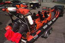 military boat : rigid inflatable boat (outboard, twin engine, center console) NAVY 770X IRISH COASTGUARD Delta
