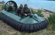 military hovercraft  Reaction - Hov Pod